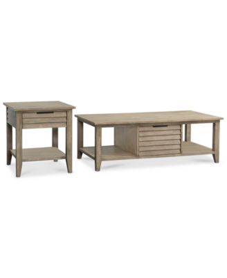 Kips Bay 2 Piece Set (Coffee And End Table), Created For Macyu0027s