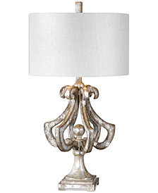 Uttermost Vinadio Distressed Table Lamp
