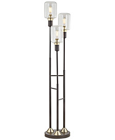 Pacific Coast Menlo Lane 3-Light Floor Lamp