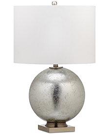 Decorator's Lighting Leaf Glass Ball Table Lamp