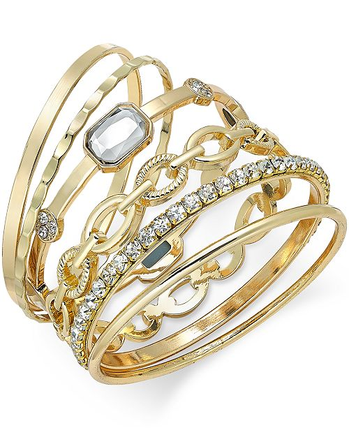 macys bangles shop dkny summer created macy bangle hot sales tassel s bracelets crystal tone for and gold on bracelet