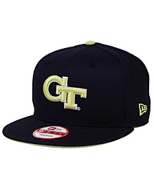 New Era Georgia Tech Yellow Jackets Core 9FIFTY Snapback Cap