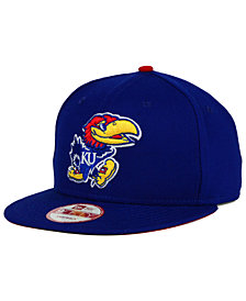New Era Kansas Jayhawks Core 9FIFTY Snapback Cap
