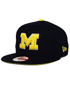 New Era Michigan Wolverines Core 9FIFTY Snapback Cap