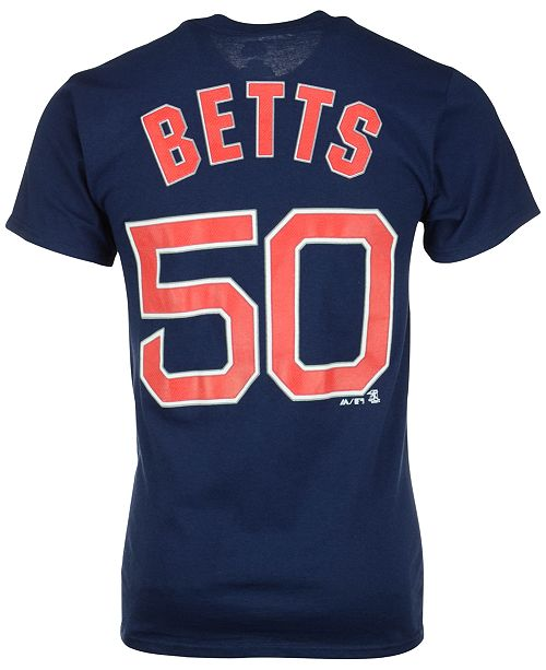 best sneakers 3d5ee 0693e Men's Mookie Betts Boston Red Sox Player T-Shirt