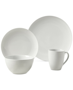Tabletops Unlimited Adams 16-Pc. Ash White Set, Service for 4