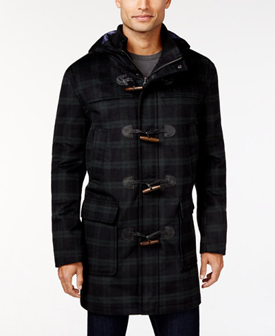 Tommy Hilfiger Barry Slim-Fit Hooded Toggle Coat