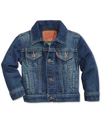 Levi's® Baby Boys' Trucker Denim Jacket - Coats & Jackets - Kids ...