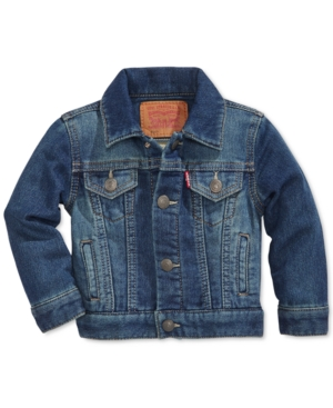 Levis Trucker Denim Jacket Baby Boys (024 months)