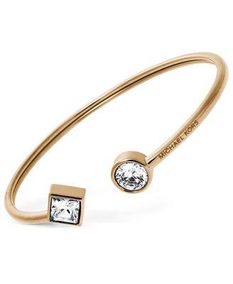 michael kors open cuff bracelet jewelry