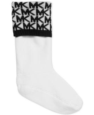 MICHAEL Michael Kors MK Rain Boots Sock Liners, Created for Macy's ...