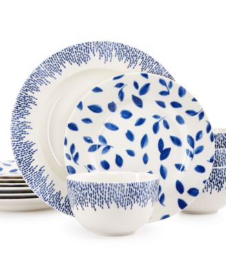 Martha Stewart Collection Stockholm Dinnerware Collection 12-Pc. Set Service for 4  sc 1 st  Macy\u0027s & Martha Stewart Collection Stockholm Dinnerware Collection 12-Pc. Set ...