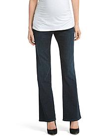 Jessica Simpson Maternity Flare Dark Wash Jeans