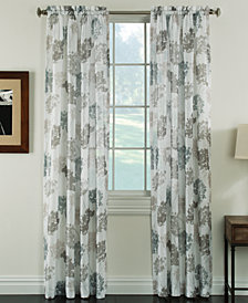 "Miller Curtains Audrey 50"" x 84"" Sheer Print Curtain Panel"