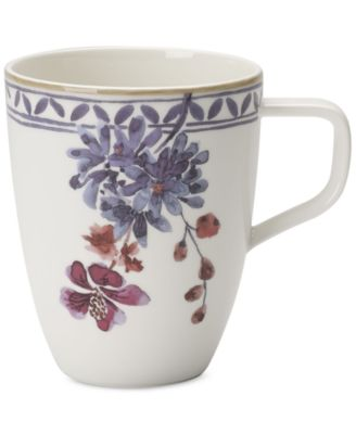 Artesano Provencal Lavender Collection Porcelain Mug
