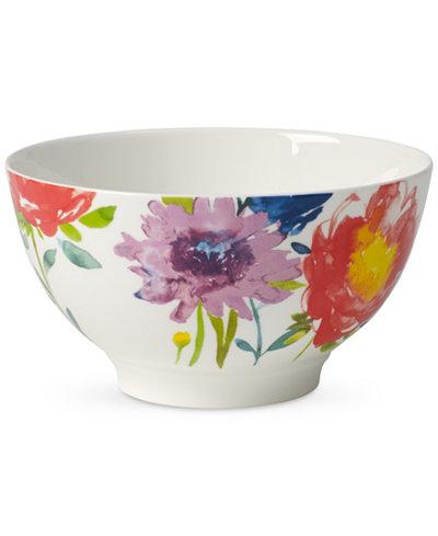Villeroy & Boch Amnut Flowers Collection Bone China Rice Bowl