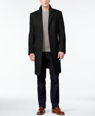 Men's big and tall cashmere coats