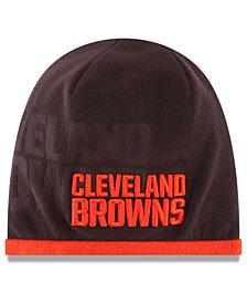 New Era Cleveland Browns Tech Knit Hat