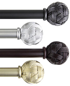 Rod Desyne Twine Single Curtain Rod Collection