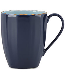 Marchesa by Lenox Dinnerware Ironstone Shades of Blue Mug