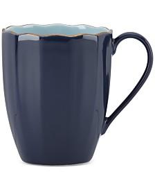 Marchesa by Lenox Dinnerware Ironstone Shades of Blue Mug