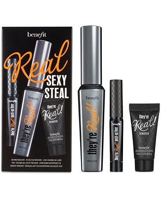 Benefit Cosmetics Theyu0026#39;re Real! Sexy Steal Eye Set - Shop All Brands - Beauty - Macyu0026#39;s