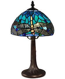 Dale Tiffany Classic Dragonfly Accent Table Lamp