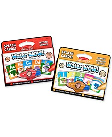 Kids' Water Wow Alphabet and Numbers & Colors Splash Cards Gift Set
