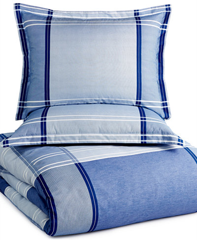 CLOSEOUT! Tommy Hilfiger Lambert's Cove King Comforter Set