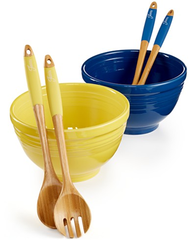 Fiesta 3-Pc. Salad Set Collection