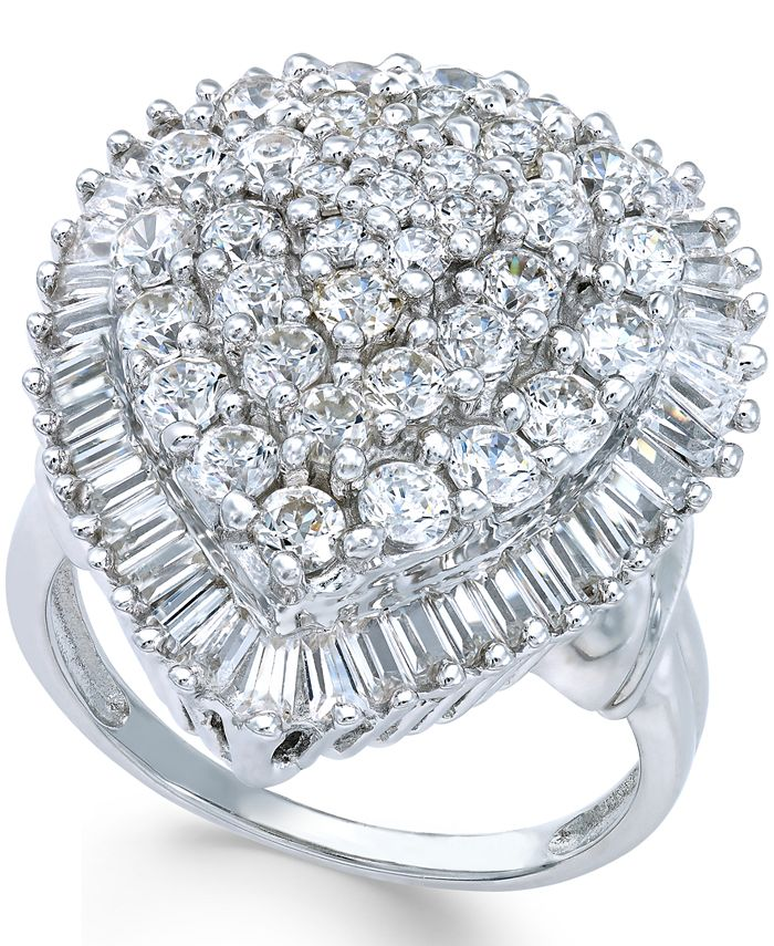 Macy's - Diamond Statement Ring (3 ct. t.w.) in 14k White Gold