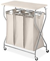 Whitmor Easy-Lift Laundry Sorter & Ironing Table
