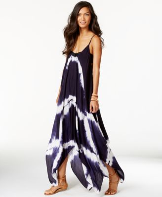 Image of Raviya Tie-Dye Handkerchief Maxi Dress Cover-Up