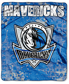 Northwest Company Dallas Mavericks Raschel Shadow Blanket