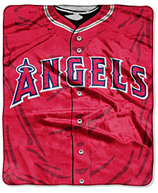Northwest Company Los Angeles Angels of Anaheim Raschel Strike Blanket