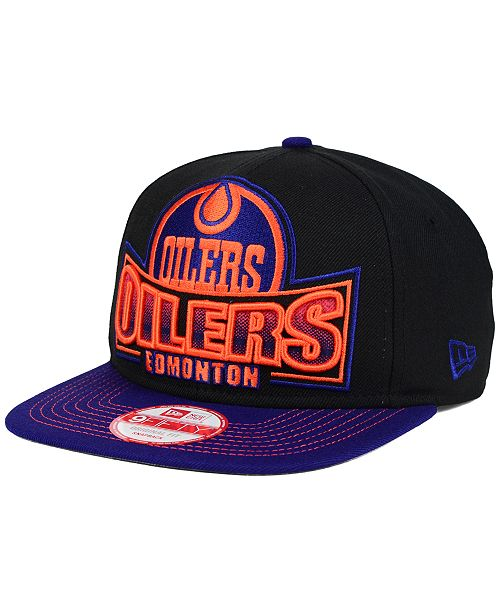 New Era. Edmonton Oilers Grader 9FIFTY Snapback Cap. Be the first to Write  a Review. main image ... ecfb8e639f90