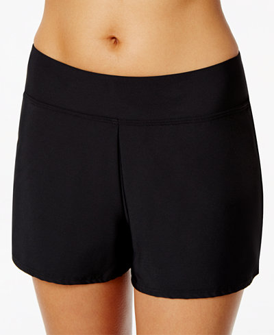 Swim Solutions Pull-On Board Shorts, Created for Macy's