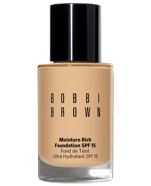 Bobbi Brown Moisture Rich Foundation Broad Spectrum SPF 15, 1-oz.