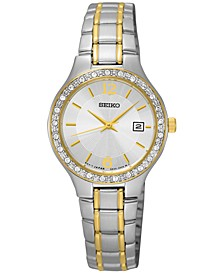 LIMITED EDITION Women's Special Value Two-Tone Stainless Steel Bracelet Watch 27mm SUR752