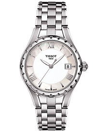 Tissot Women's Swiss T-Lady Stainless Steel Bracelet Watch 34mm T0722101111800