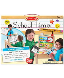 Kids' School Time! Classroom Play Set