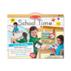 Melissa and Doug Kids' School Time! Classroom Play Set