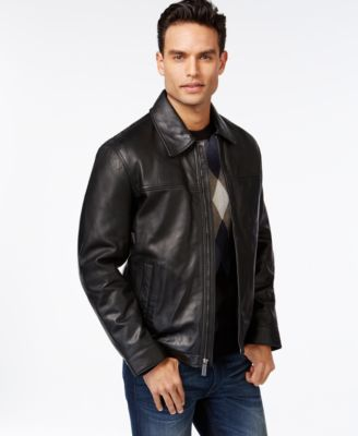 What to wear with a leather jacket male