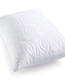 CLOSEOUT! SensorGel Quilted GELcore Memory Foam Standard/Queen Pillow, Hypoallergenic Fiber Fill, Created for Macy's