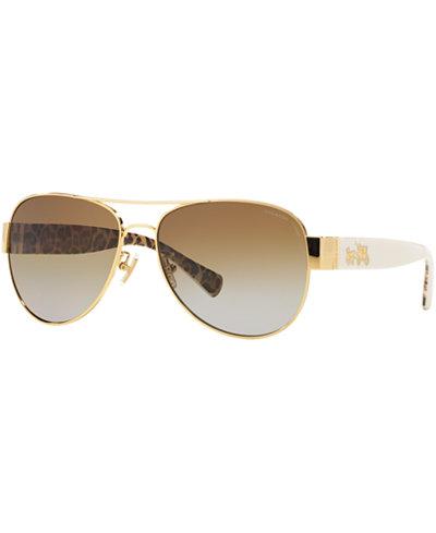 Coach Polarized Sunglasses, HC7059