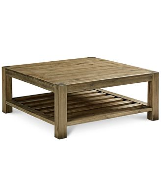 canyon coffee table, created for macy's - furniture - macy's