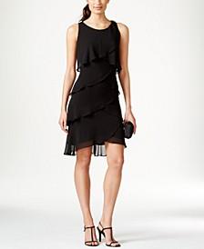 Tiered Chiffon Dress