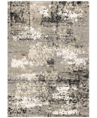 """Fusion Grey 3'10"""" x 5'7"""" Area Rug"""