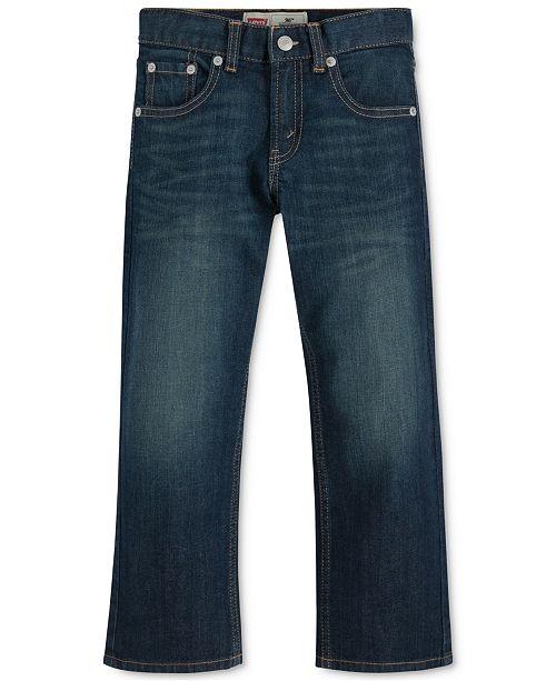 Levi's 505™  Regular Fit Jeans, Little Boys