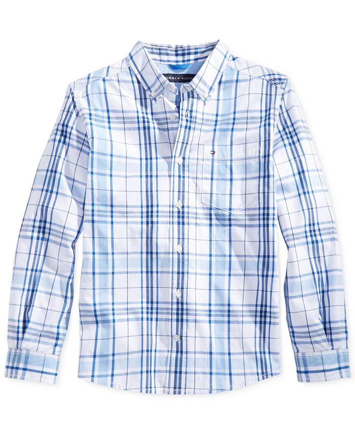 Tommy Hilfiger - Little Boys' Ethan Plaid Button-Up Shirt